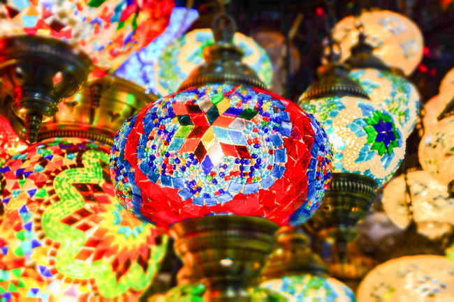 Abundance Art And Craft Backgrounds Choice Close-up Collection Colorful Full Frame Indoors  Lantern Man Made Object Multi Colored No People Ornament Retail  Selective Focus Variation