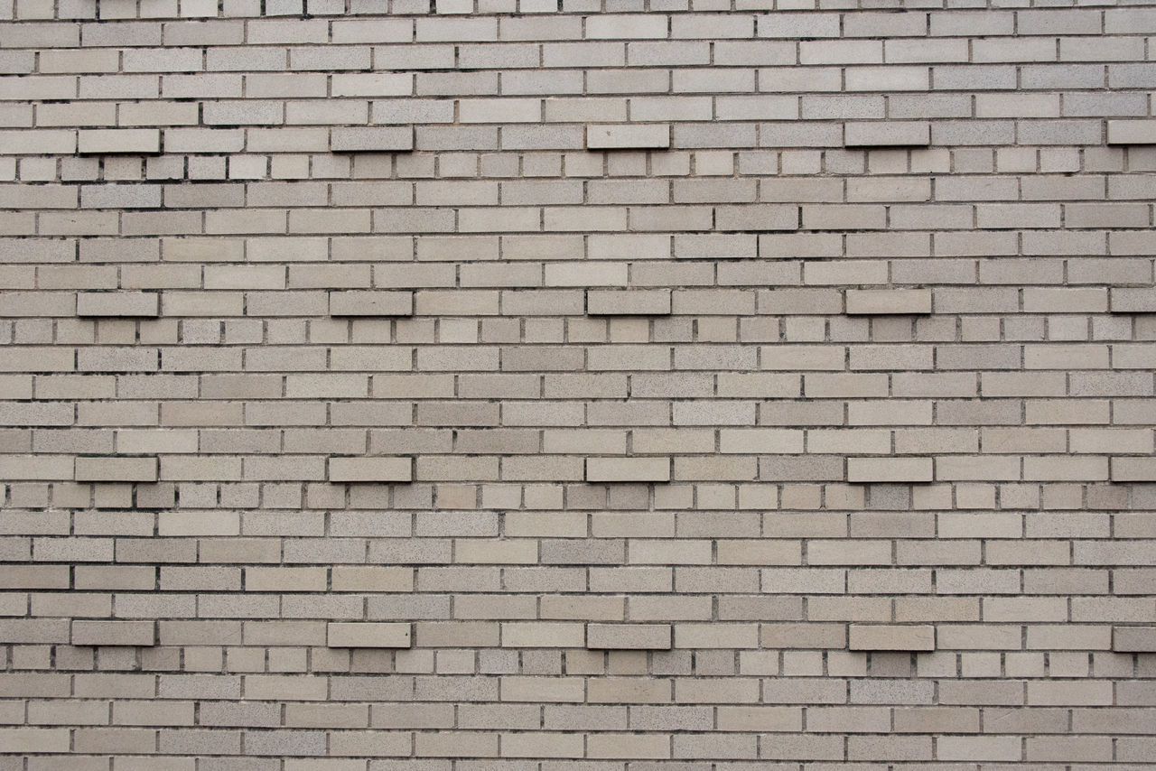 Brick Brick Wall Bricks Building Grey Texture Wall Wallpaper