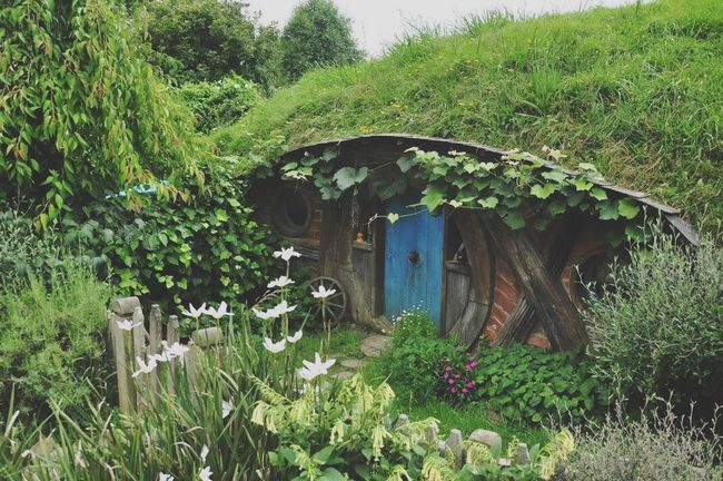 Tiny home Tiny Home House Homesweethome Photooftheday MiddleEarth TheHobbit Hobbiton Movie Set Tours Photography Newzealand Matamata Hobbiton