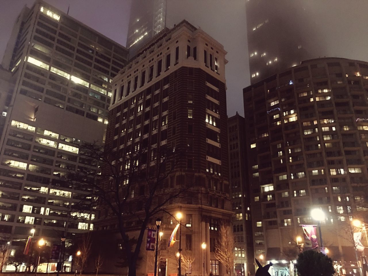 I can't help but wonder, where would we be if we were lost in the mist... Centercity Downtown