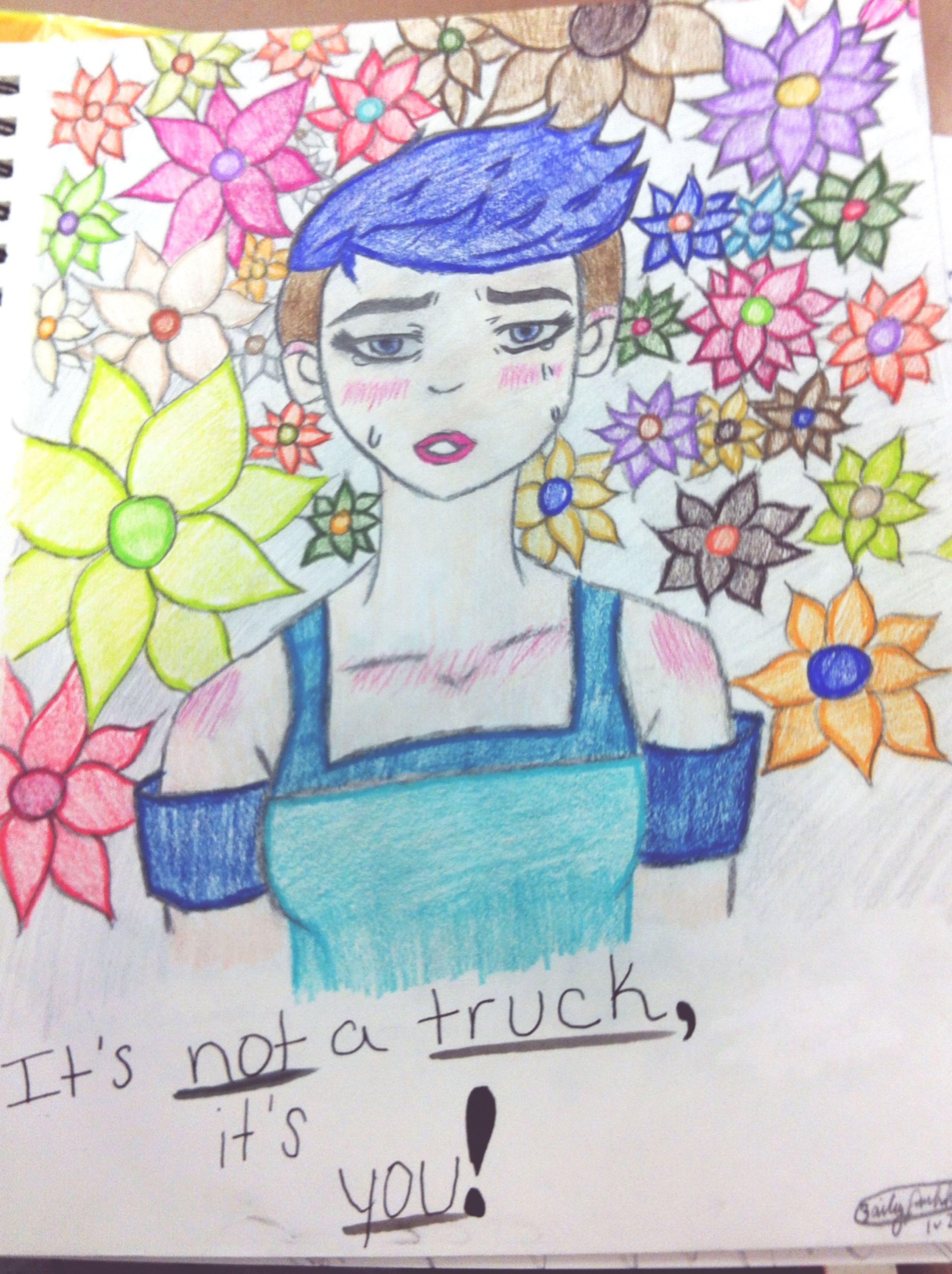 In honour of all struggling Transgenders. Transgender Rest In Peace Drawing Colouredpencils