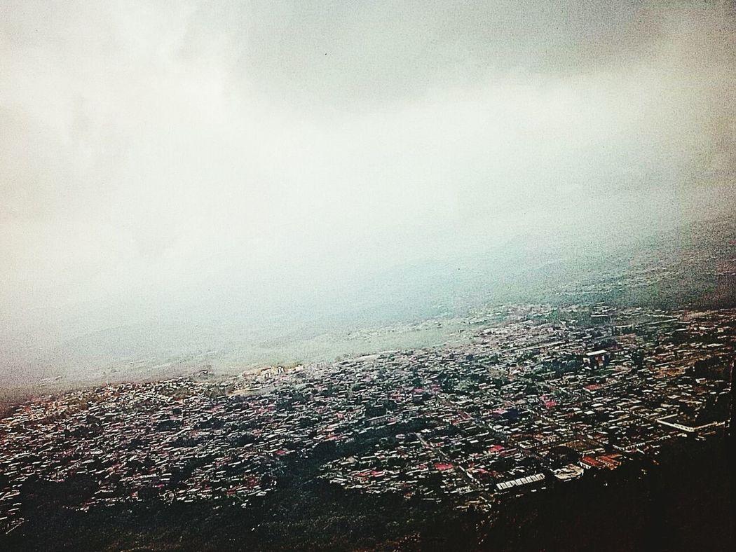 Aerial Shot Venezuela Ciudad Holiday POV Rubio Capture