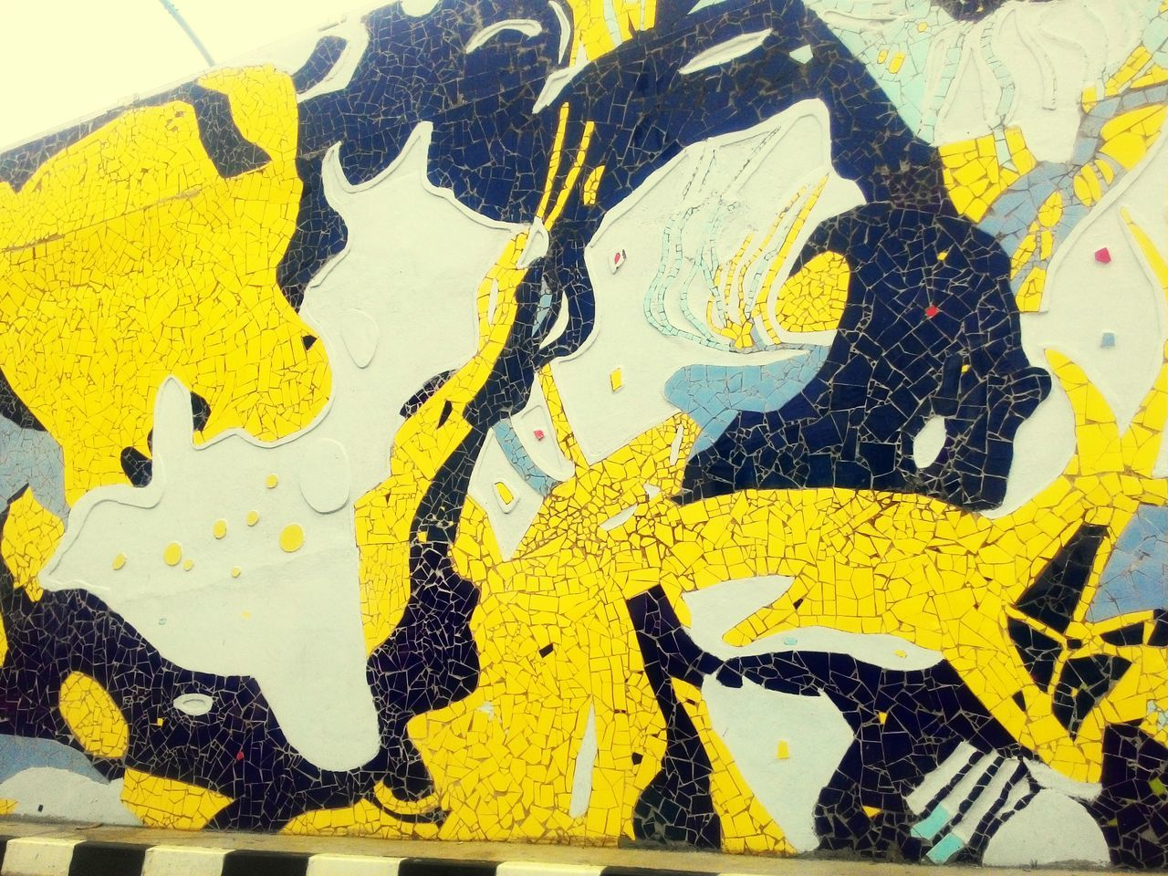 yellow, close-up, full frame, paint, backgrounds, pattern, textured, day, no people, outdoors
