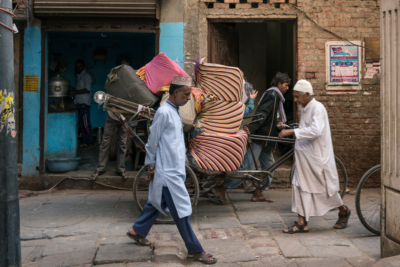In the Lanes, Varanasi Color Color Palette Color Photography Colorful Colours India India_clicks Indian Culture  Indianstories Indiapictures Men Real Life Real People Real People Photography Real People, Real Lives Street Photography Streetphotography Travel Travel Destinations Travel Photography Travelphotography Varanasi Varanasi India Varanasi, India Ganges, Indian Lifestyle And Culture, Bathing In The Ganges, Working