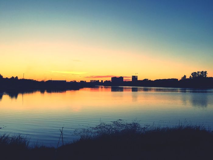 Evening Sky summer spb Russia