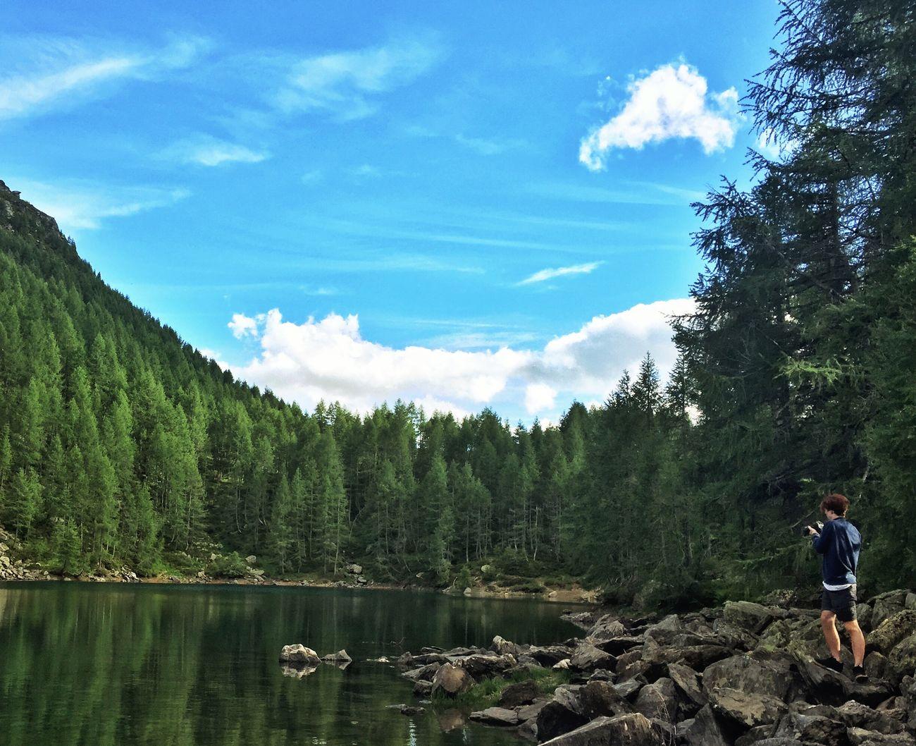 Lago azzurro, Madesimo(SO), Italy EyeEm Best Shots Landscape First Eyeem Photo