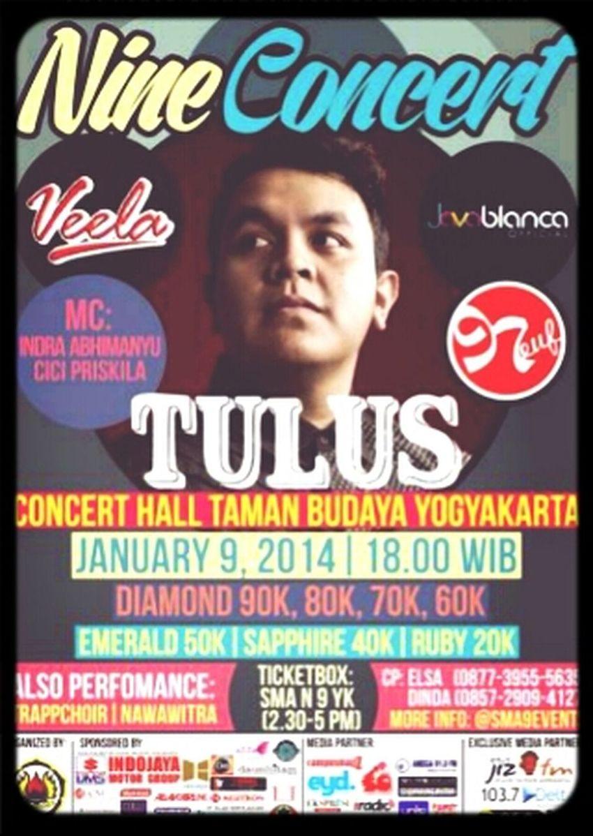 nine concert Tulussm Teman Tulus Musik Tulus Taman Budaya Yogyakarta