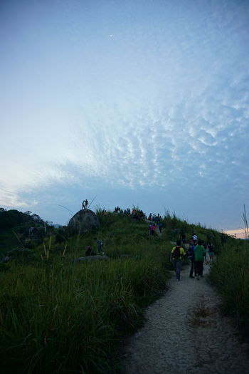 Hiking up Broga Hills, Semenyih Broga Hiking Nature Brogahill Hill Morninghike Outdoors Sky