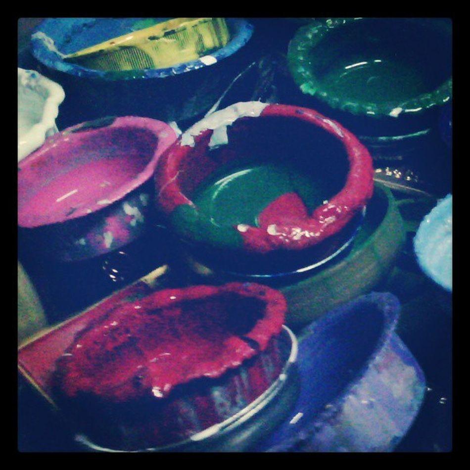 Pahinga muna mga lalagyan ng pintura  Acrylic Paint PaintBox Instaphoto Thinnerlid Recycle  Igerspinoy 