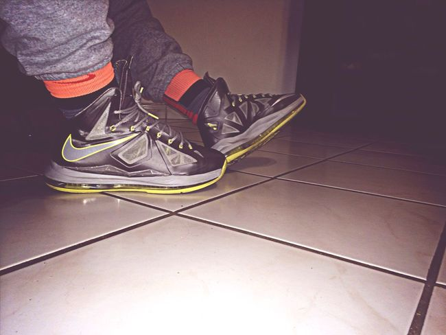 Riding the canaries!? Lebrons Nike