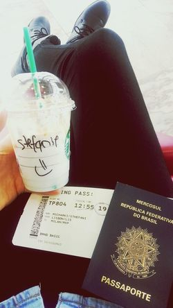 Boarding Traveling Airport Starbucks