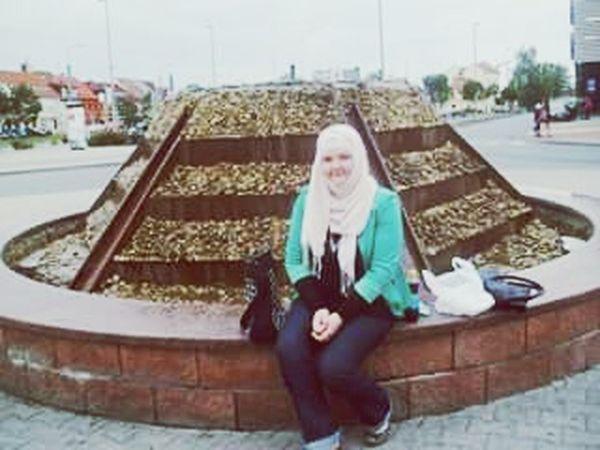 Hi! Enjoying Life Czech Republic Happy Muslim Woman Muslimah Hijabstyle  Story That's Me