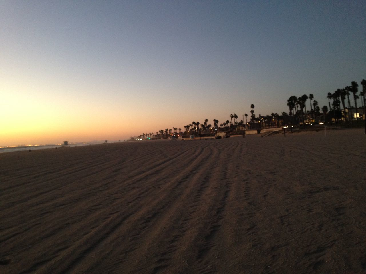 sand, beach, outdoors, sunset, nature, sand dune, clear sky, desert, landscape, large group of people, beauty in nature, scenics, day, sky, people