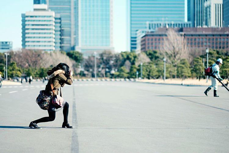 シューティングみかてぃ@完全版 ポートレート Portrait Tokyo Snap 画角を撮った時のままに出来るのは使い易い