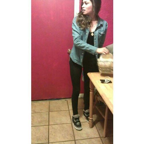 She J Walking Haha