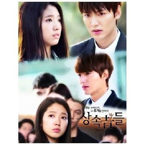 Didn't even sleep just to watch this and i couldn't even sleep now because of Lee Minho's hotness in this drama. Episode 9 pls, bitin na bitin na ako dito. Need more minho feeeeels~ *spazz* TheHeirs TheInheritors Leeminho ParkShinHye kdrama 짱! ♥