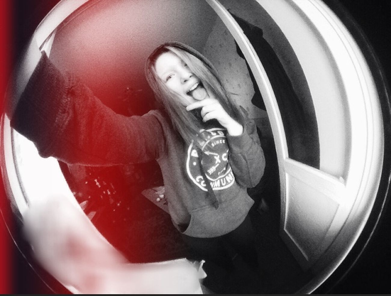 Fish eye Black And White Photography ➰