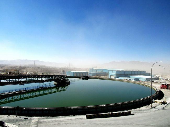 TakeoverContrast Industry Deserts Antofagasta Chile
