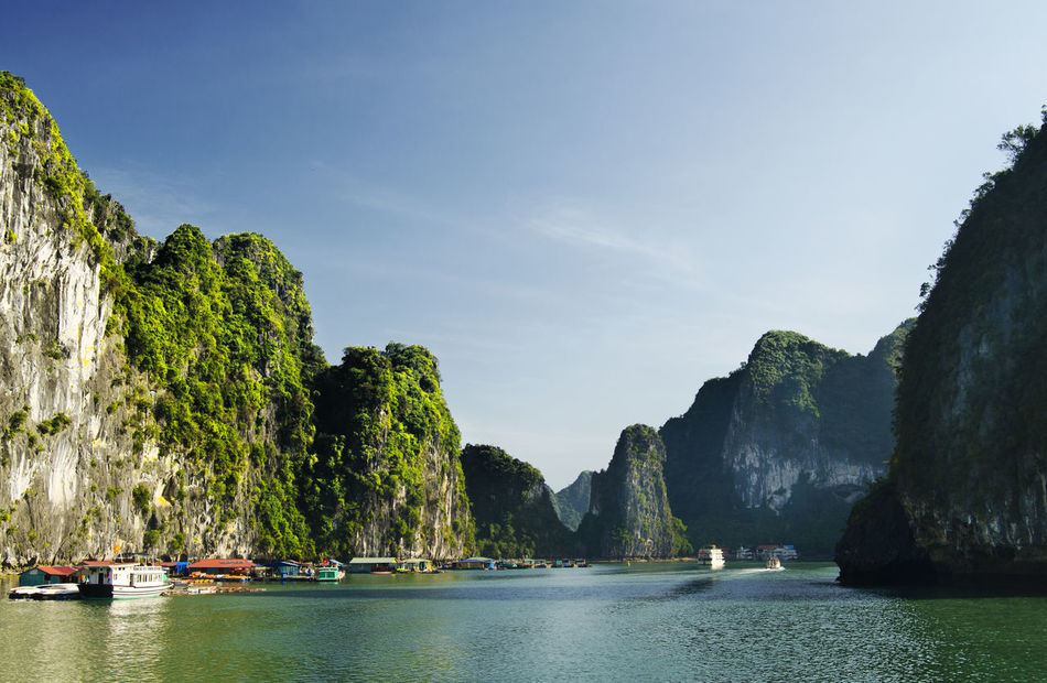 Beautiful stock photos of vietnam, Beauty In Nature, Day, Famous Place, Halong Bay