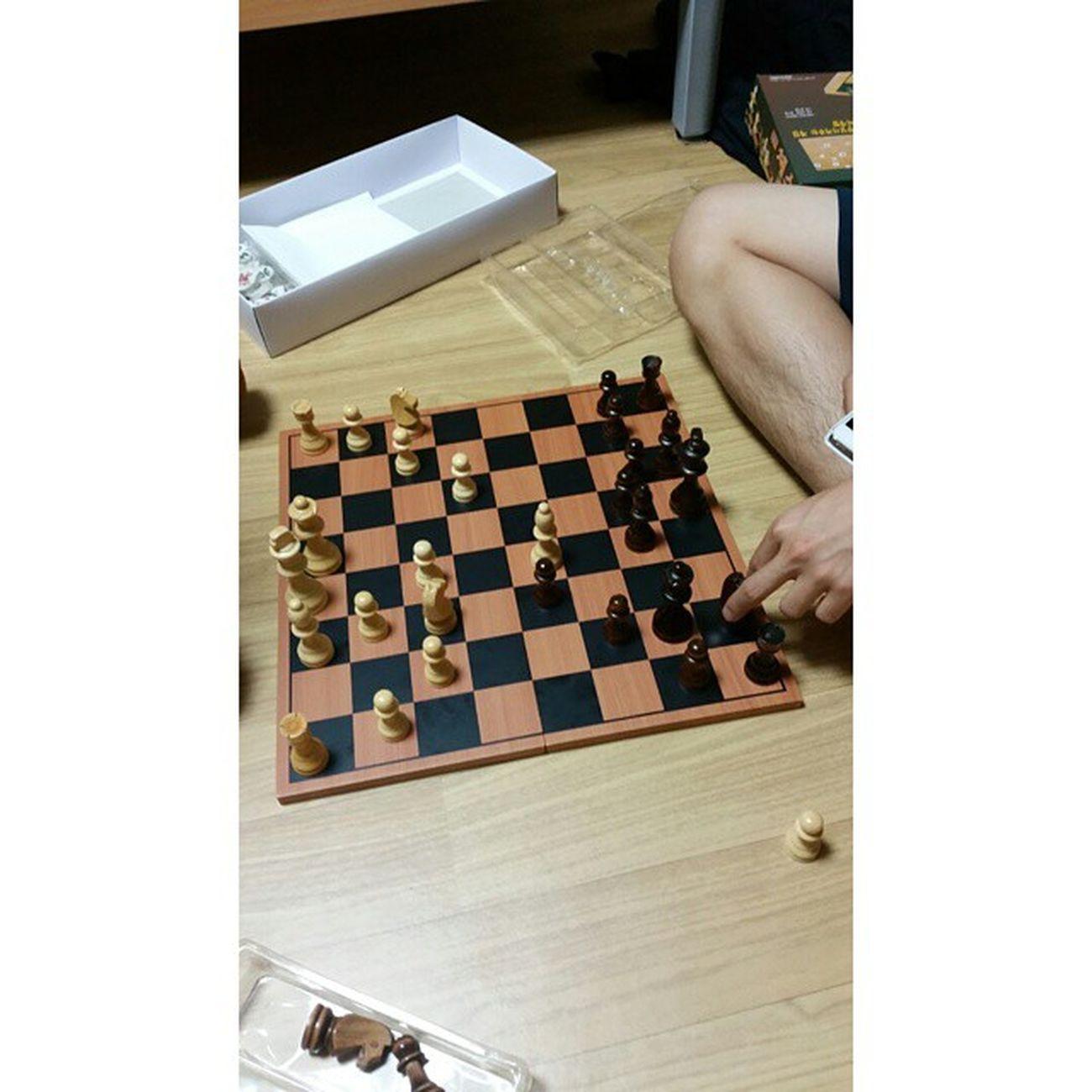 CUSTOM HASHTAG 체스 체크메이트 보드게임 놀이