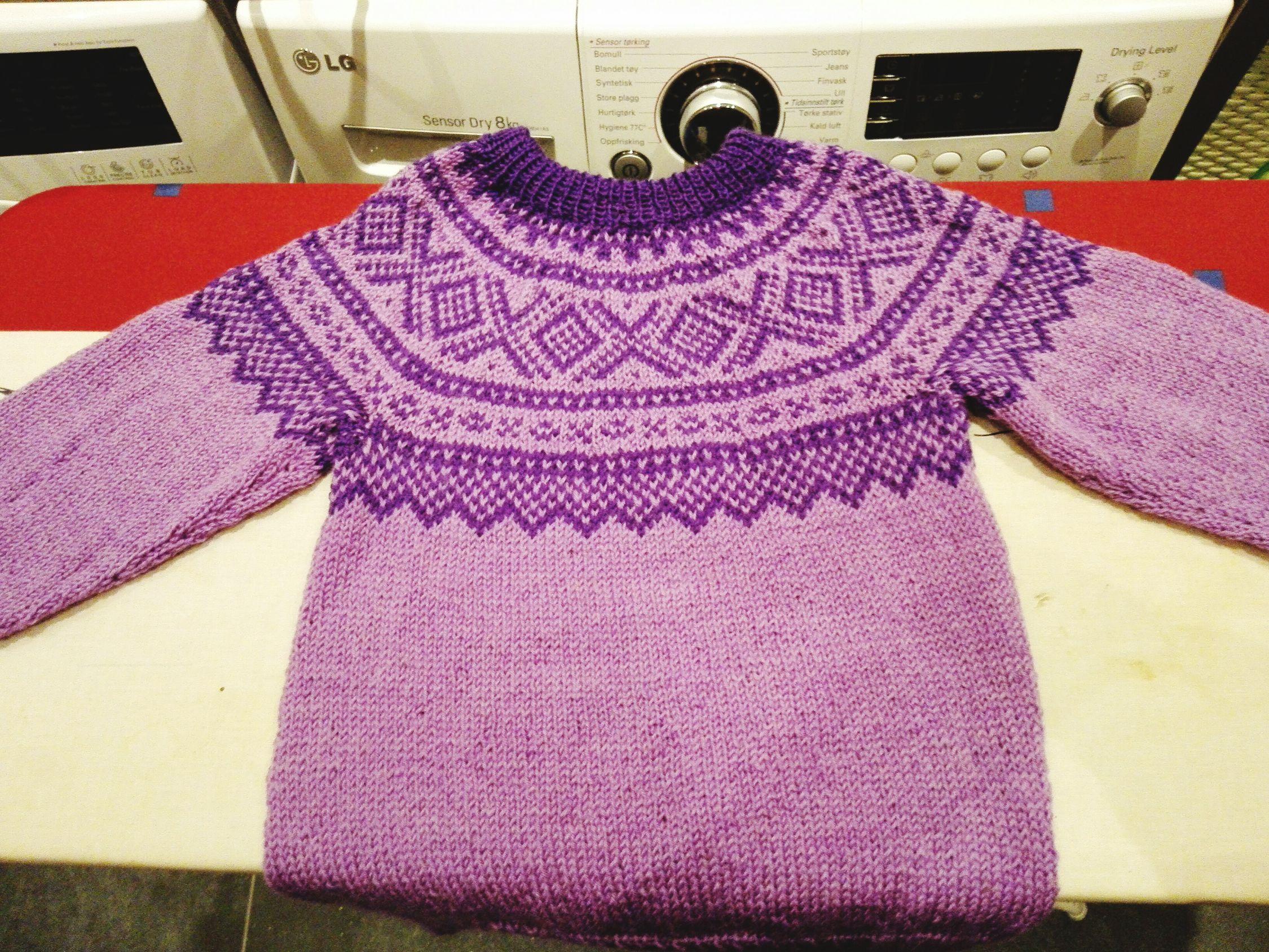 Strikking Knitting Stricken Marius Genser Senjagarn Barn Hjemmelaget Homemade Mariusgenser