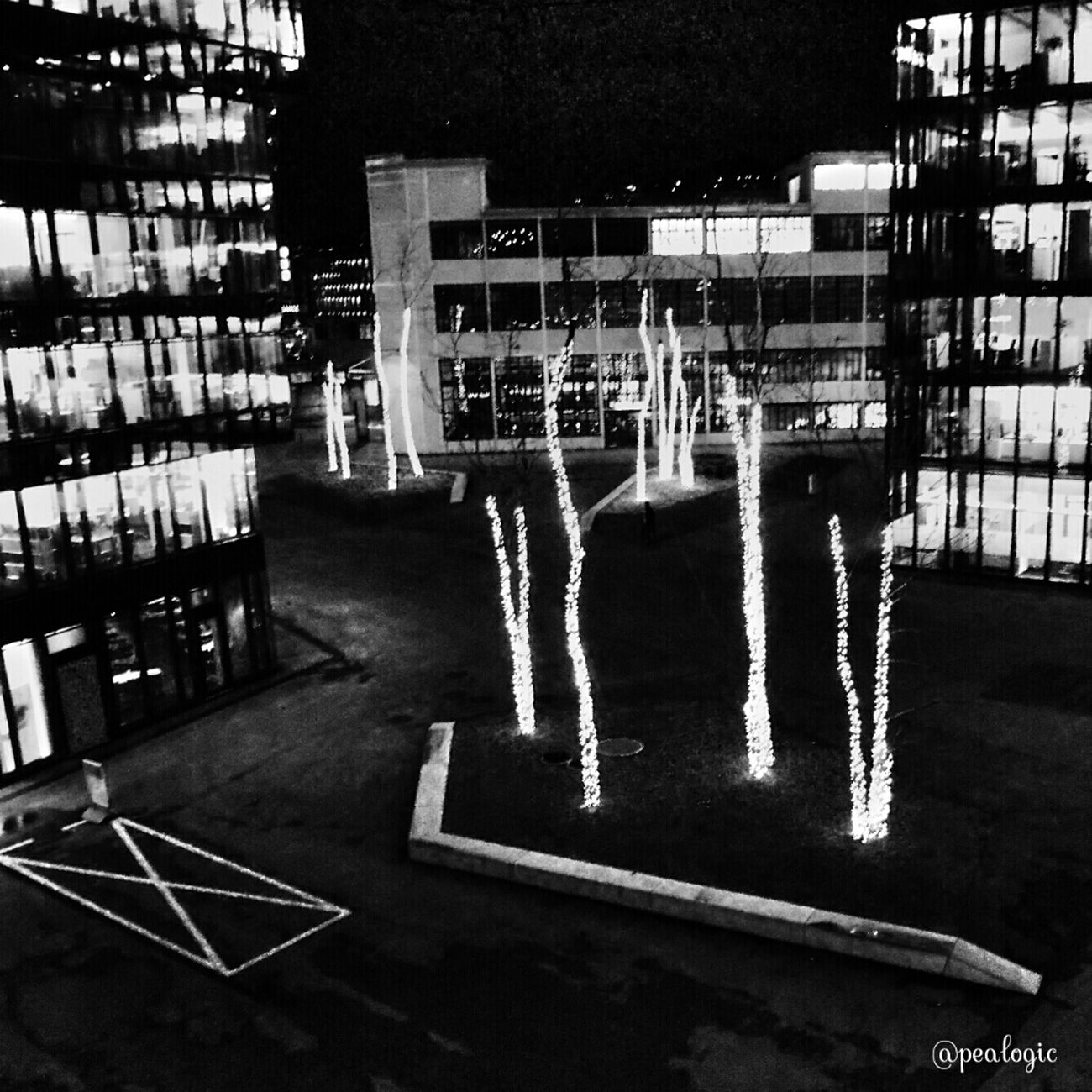 Urban Blackandwhite Night Lights Zürich Switzerland Noir Et Blanc Bws_worldwide Eye4photography  Ee_daily Bwstyles_gf Bwsquare Bws_artist_eu EE_Daily: Black And White Sunday EE_Daily: Black And White
