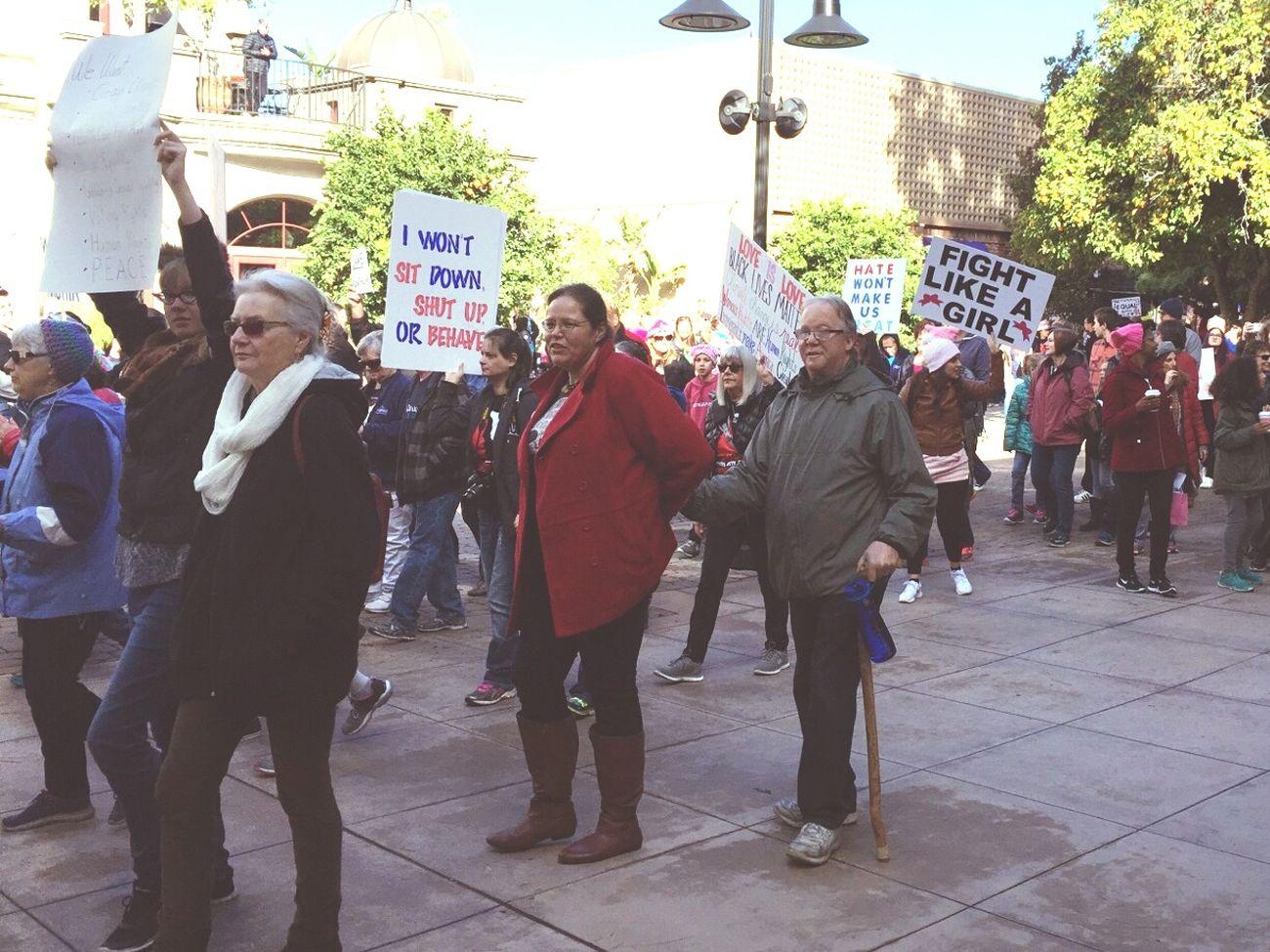 Womens March Riverside Womens March photo by marina porras-codiga