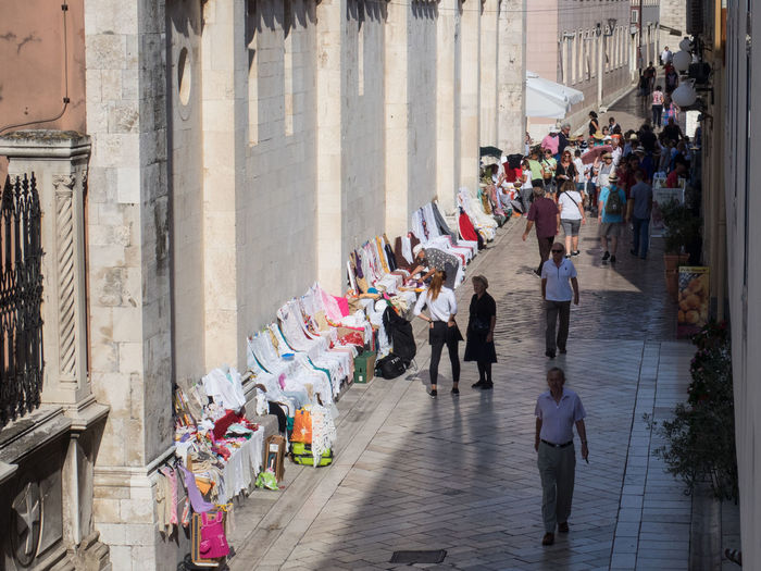 Afternoon City Croatia Handcraft Market Old Town Sellers Shopping Tourism Tourist Attraction  Tourist Destination Travel Destinations Travel Photography Vendors
