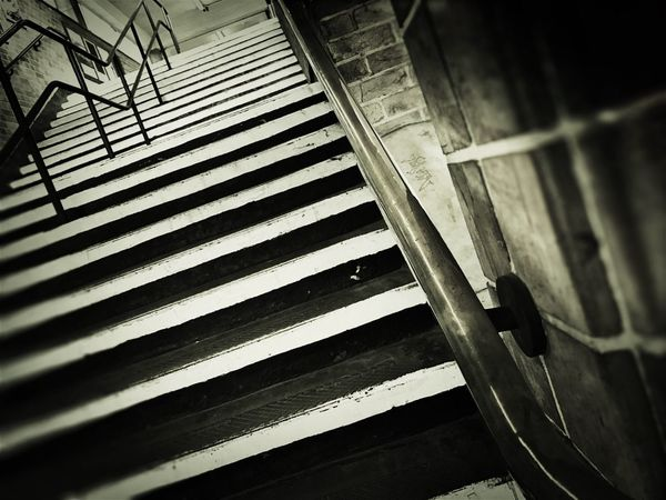Steps Staircase No People Steps And Staircases Day Low Angle View Architecture Railing The Way Up