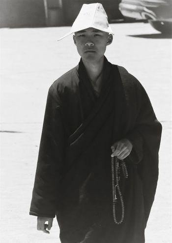 Monastic Young Adult Only Women People Tibetan Buddhism
