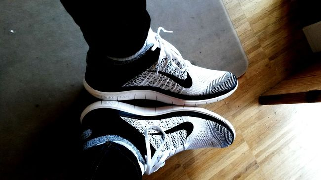 Taking Pictures New Shoes♥ Nike Free 4.0 Flyknit Alone @work Winnercircle Keepgoing Allinornothing Snapchat Juliano274 pille247