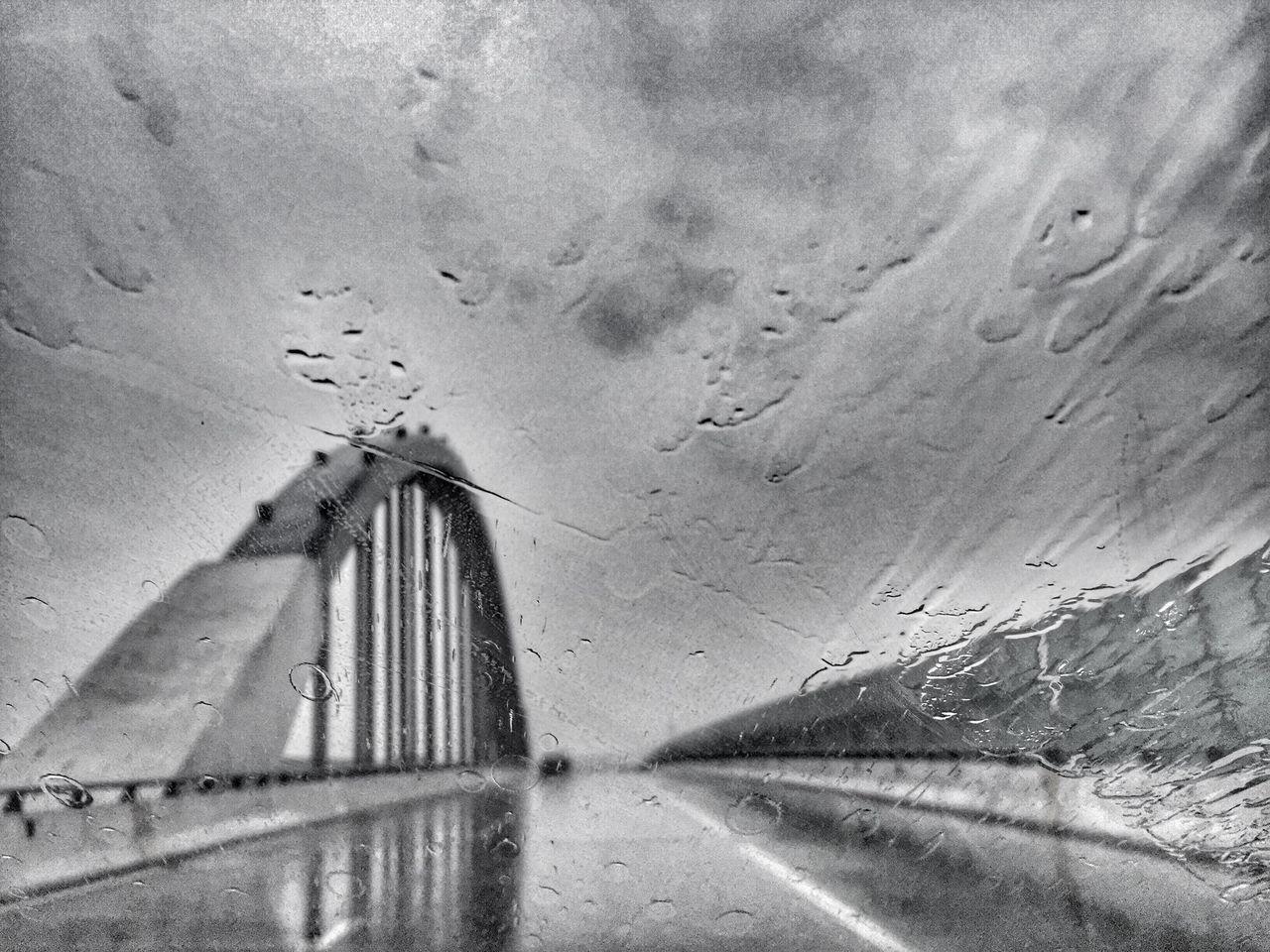 Rain Rainy Days Raindrops On The Road Highway Blackandwhite Black And White Black & White Blackandwhite Photography Black&white Monochrome