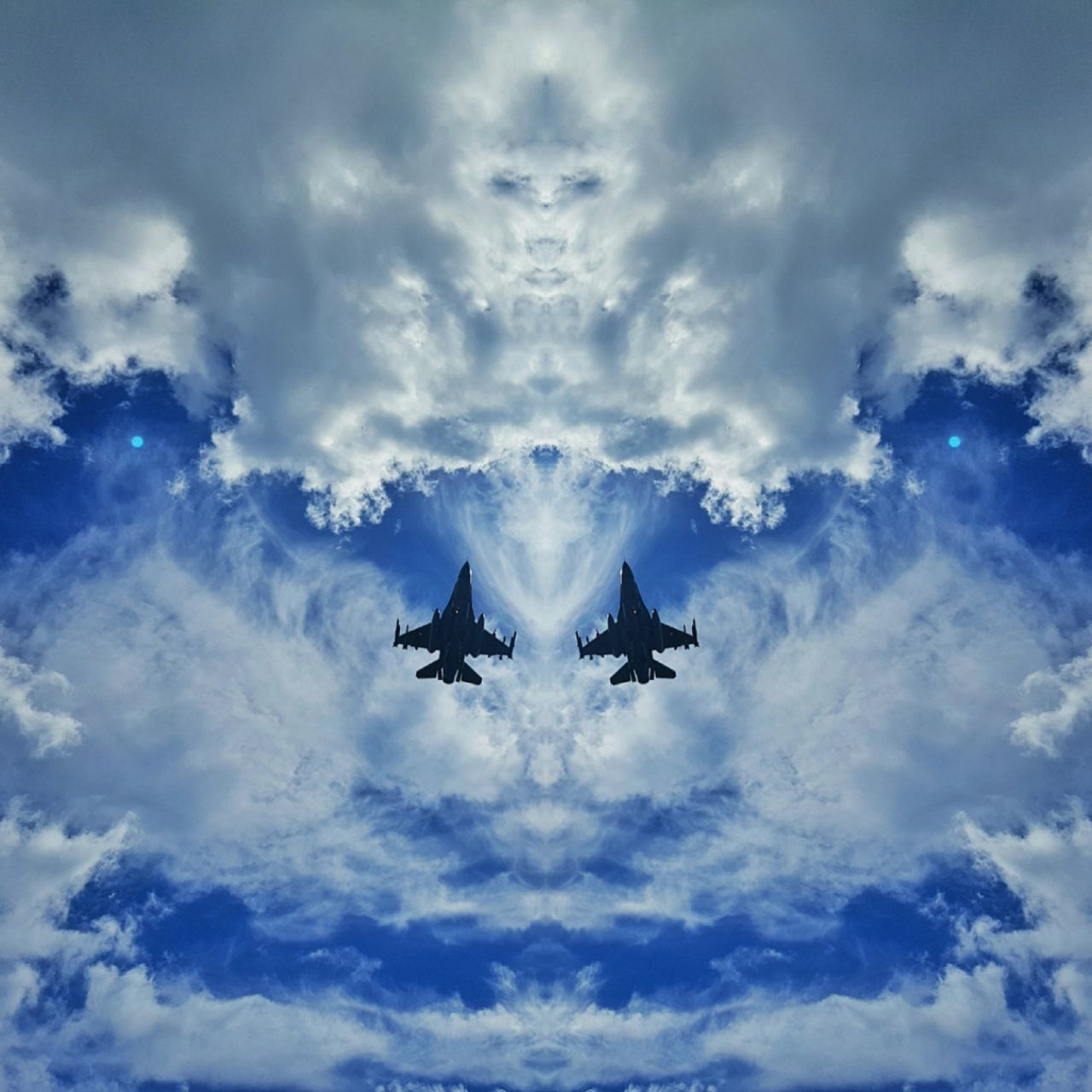 F16 F16fightingfalcon Military Airplane Blue Jetplane Plane Mirror Picture Skyformation The Magic Mission
