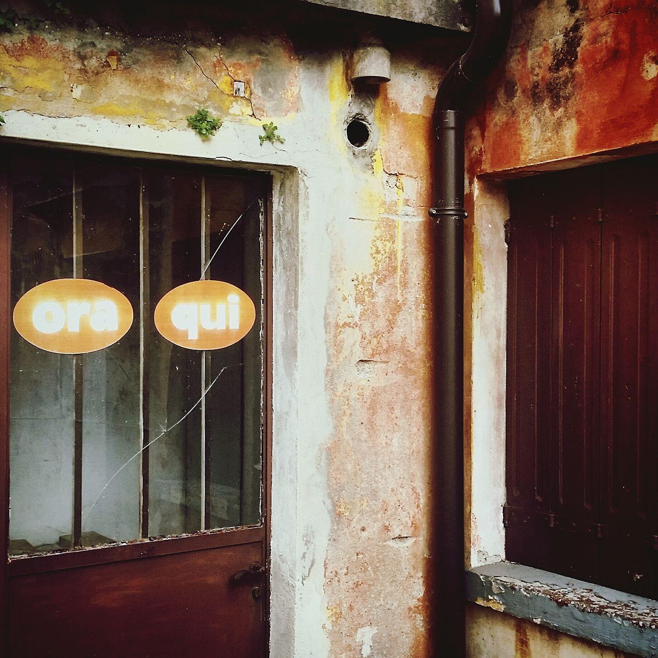 Hic Et Nunc Pordenone Notes From The Underground Cityscape Pasqualino