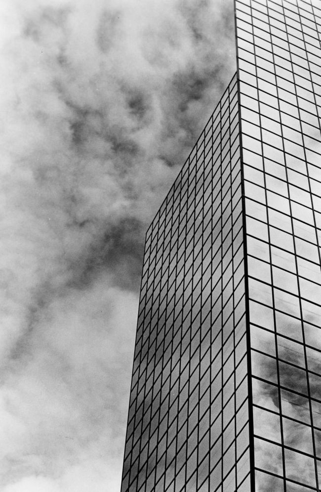 Angle Angles And Lines City Cloud Cloud - Sky Cloudy Contrast Environmental Conservation Fluffy Clouds Glass - Material Glass Reflection Juxtaposition Leading Lines In The Sky Low Angle View Mirror Modern No People Silhouette Structure