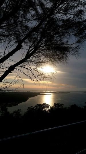 Water Sunset Sky Sea Scenics Reflection Nature No People Silhouette Outdoors Horizon Over Water Tranquility Tree Beauty In Nature Landscape Day Colour Your Horizn