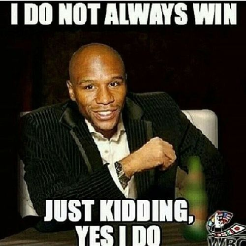 MoneyTeam Mayweather Wins Dontbemad