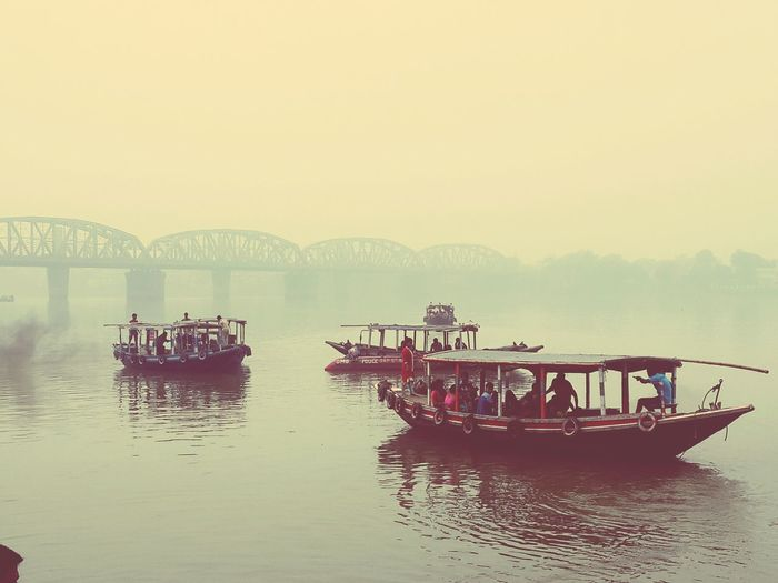 Path along the river Kolkata River Early Morning Peaceful View Water Boat Livelikeacommoner People Photography Long Goodbye