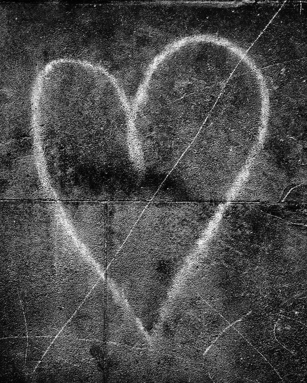 Blackandwhite Concrete Creativity Drawing - Art Product Drawn Graffiti Heart Shape Love Monochrome Monochrome Photography MonochromePhotography Shape Sigma Dp2 Urban Valentine