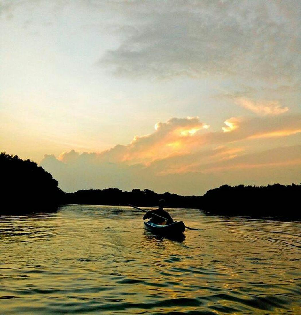 Kayaking Kayak Riverrides Beautiful Nature