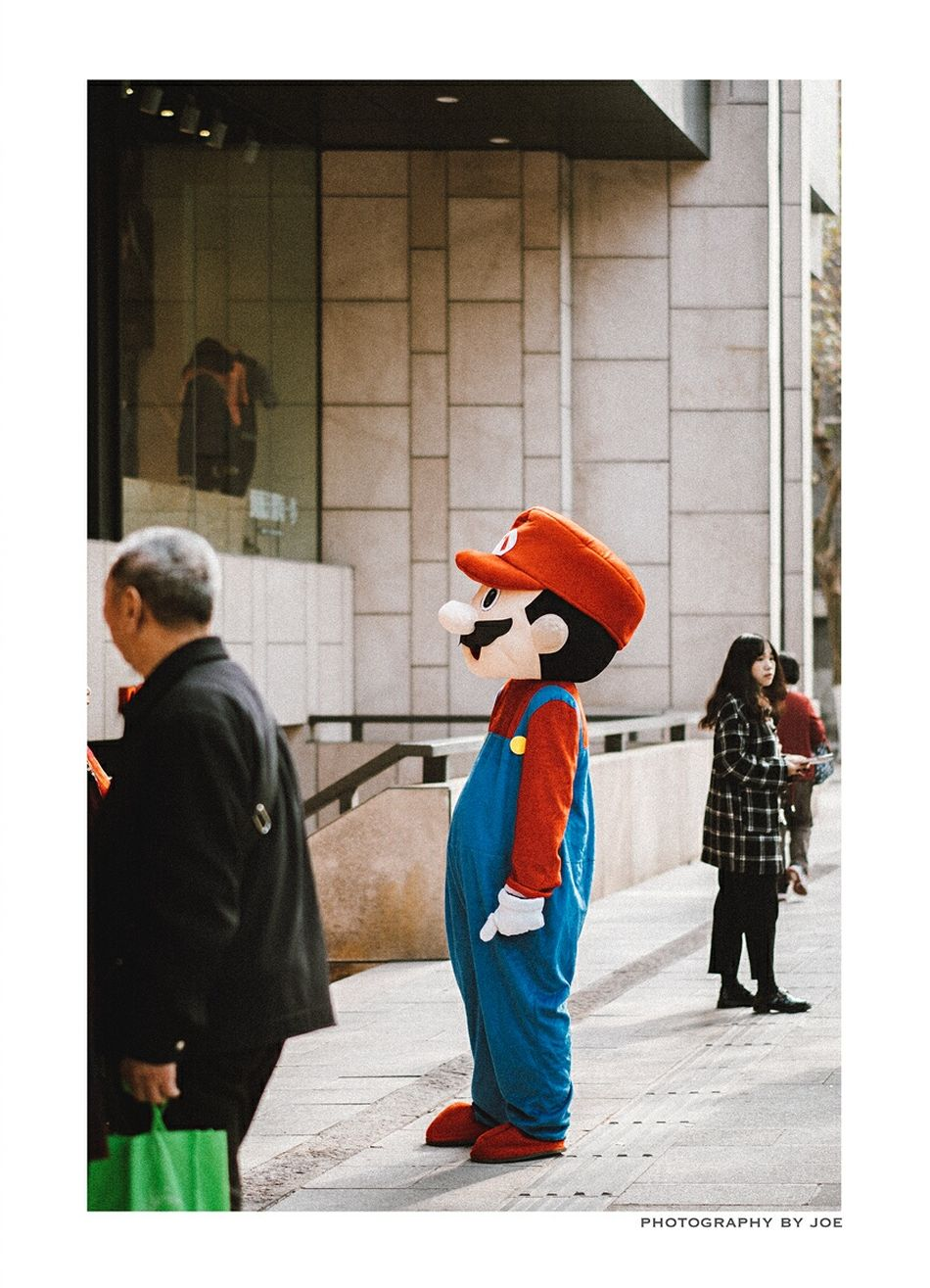 Full Length Real People Outdoors People Adult Adults Only Day Mario Bros
