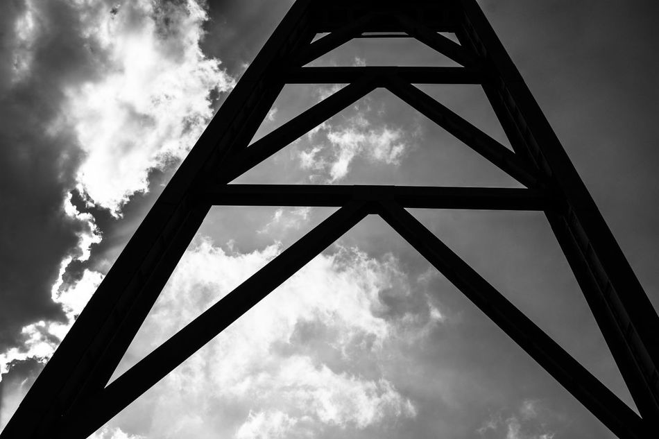 Architecture Architecture Architecture_collection Backgrounds Black And White Blackandwhite Built Structure Cloud - Sky Contrast Day Industrial Industry Low Angle View No People Outdoors Sky Structure Structures And Architecture Sun Sunlight