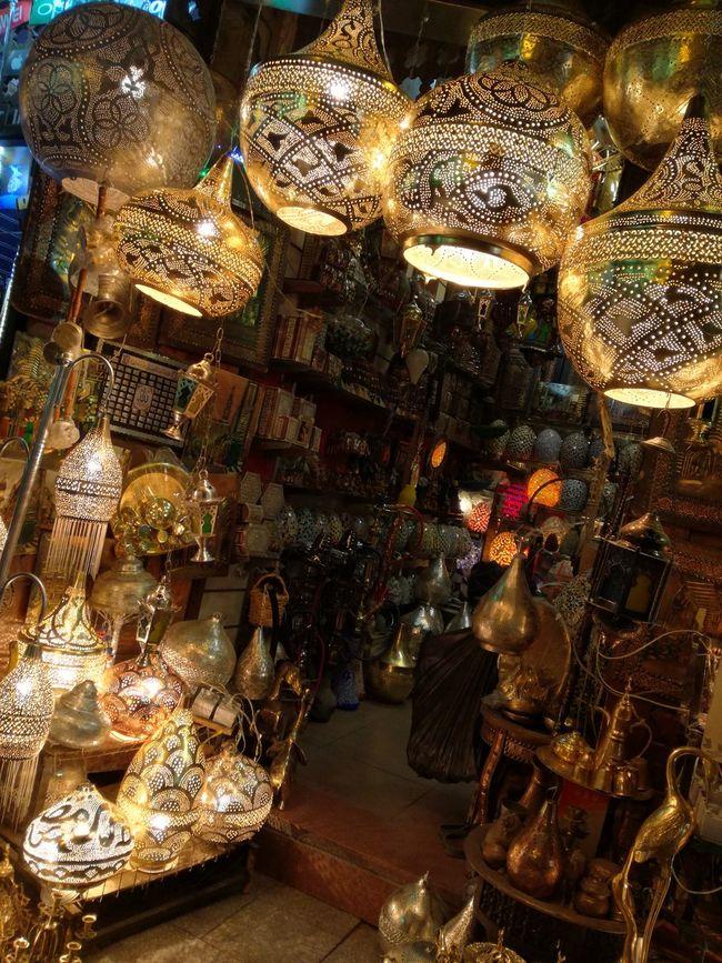 Close-up Collection Egypt Egypt Souvenirs Egyptian Gift Shop El-Moez St. Lighting Equipment Lights Night No People Old Cairo Ramadan  Ramadan Nights Store