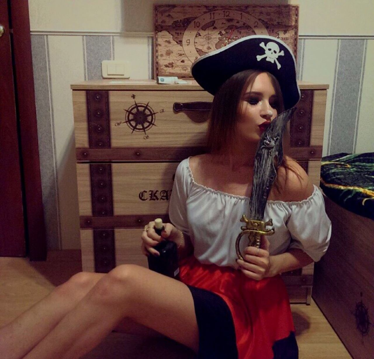 Women Young Women One Woman Only Only Women Corsair Pirates Pirate пират пираты One Person