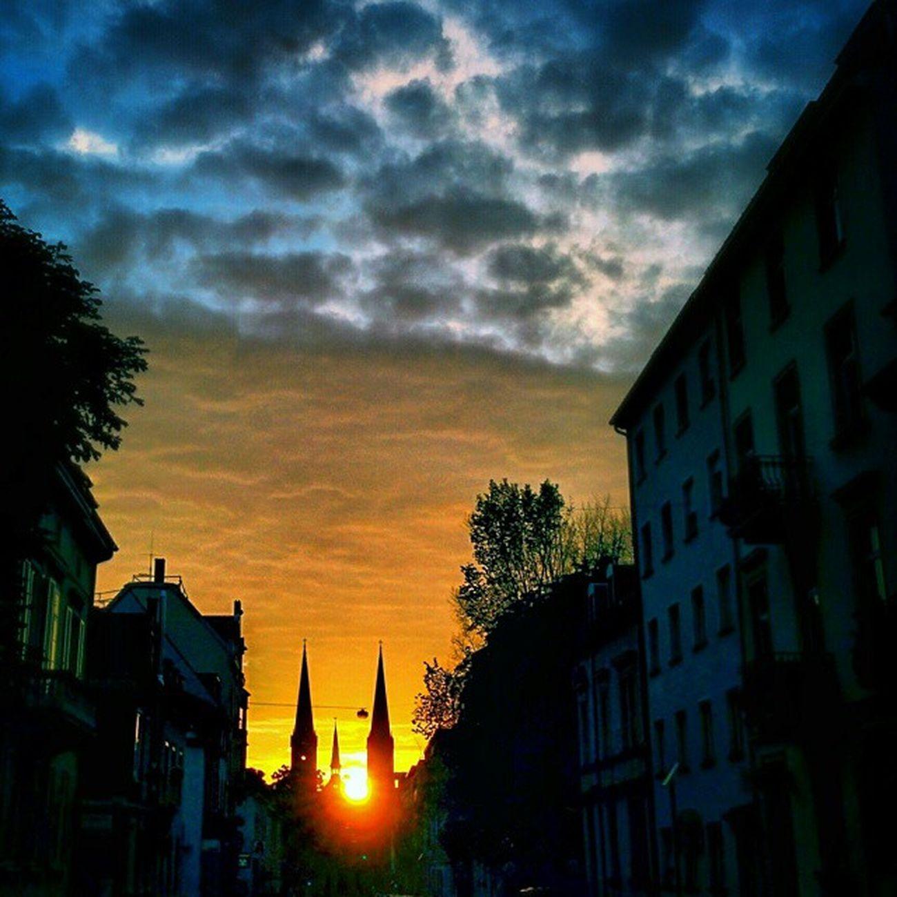 Freiburg Johanneskirche Sunset