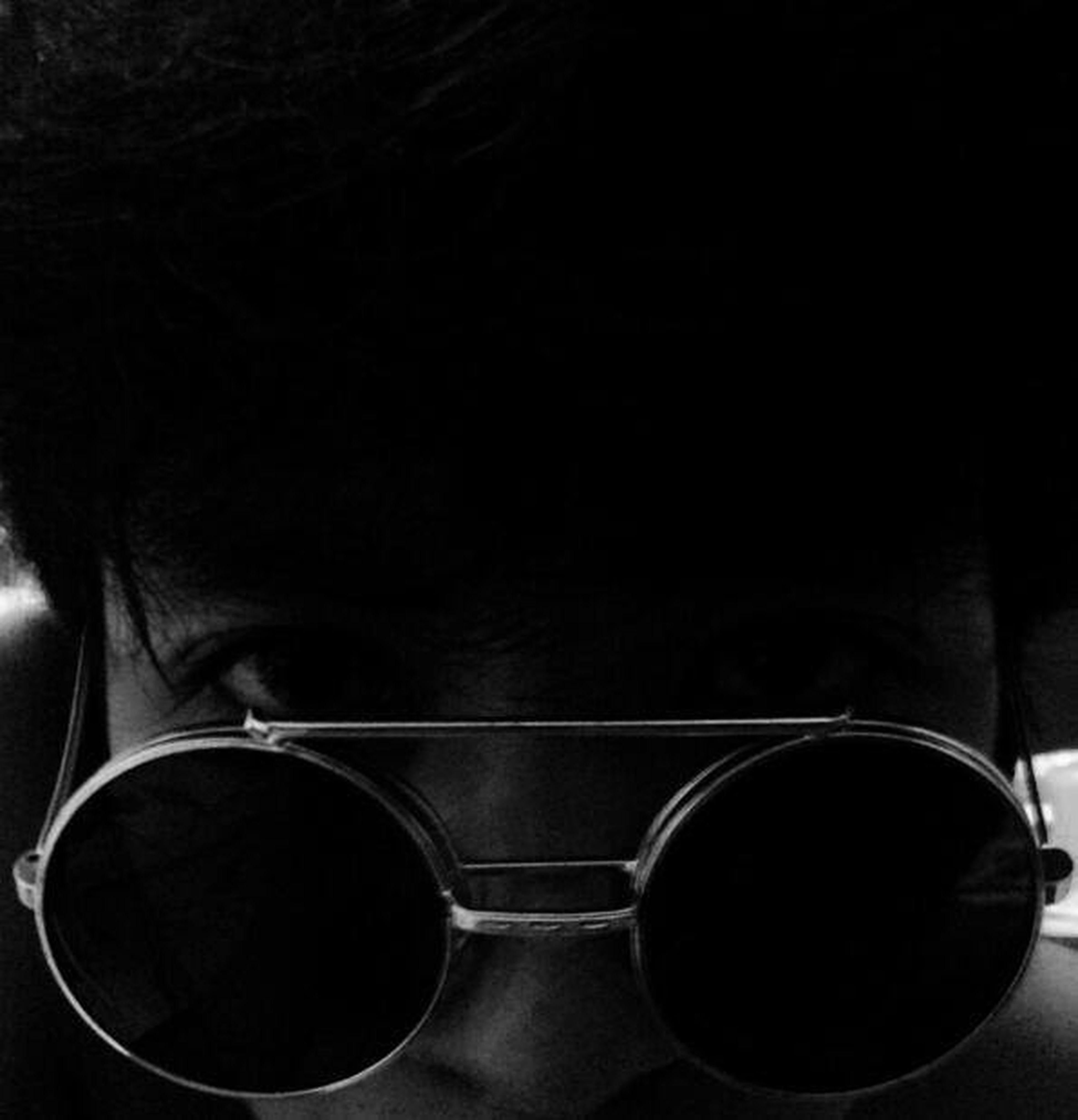 Black And White Self Portrait Alone........