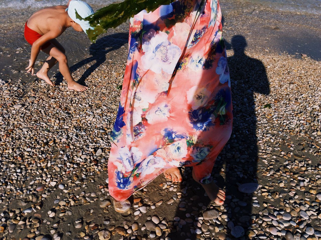 Beach story... Beach Outdoors Leisure Activity Childhood Lifestyles Sand Child Shadow Sunlight Human Body Part Close-up Wind Tropical Playtime Summer Travel VSCO Details Of My Life Vacation Fashion Stones Low Section Exotic Colorful Street Sommergefühle