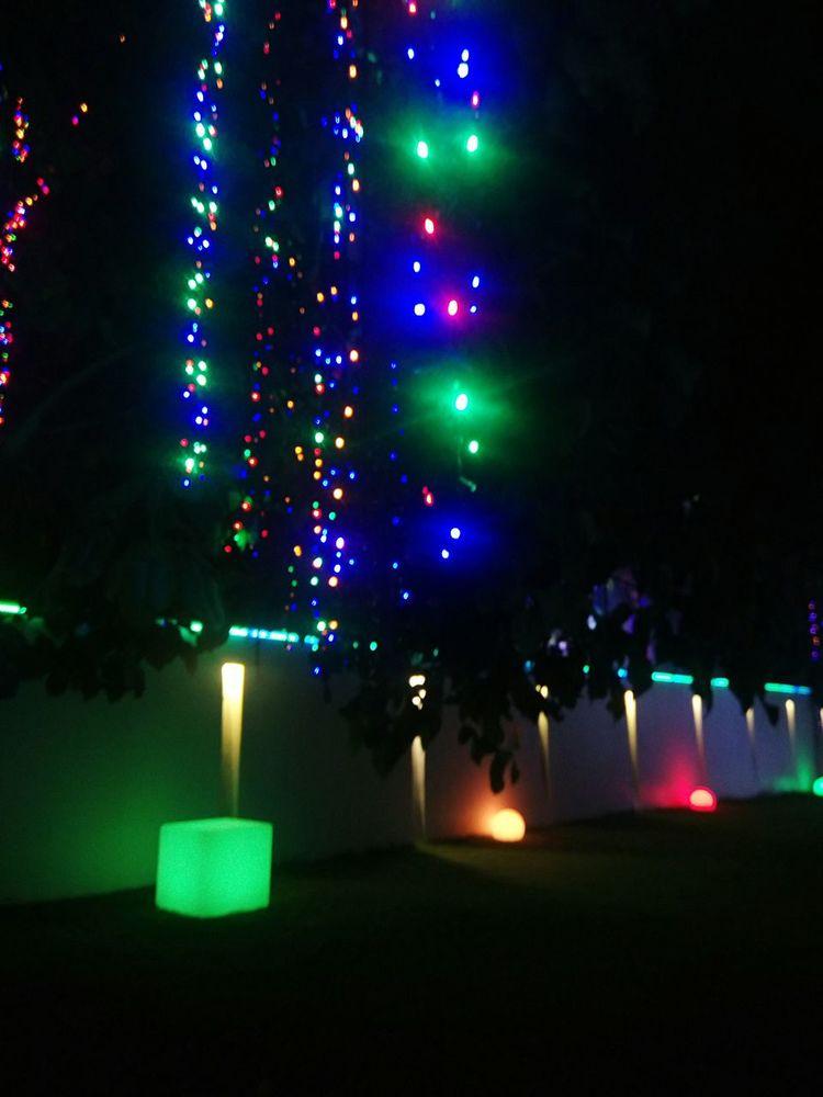 Lights in the dark... Rainbowlights Beginnerphotographer EyeEm Best Shots - Nature EyeEm Best Shots Randomness EyeEm Gallery Perspective Light Experia Pink Green Yellow Blue