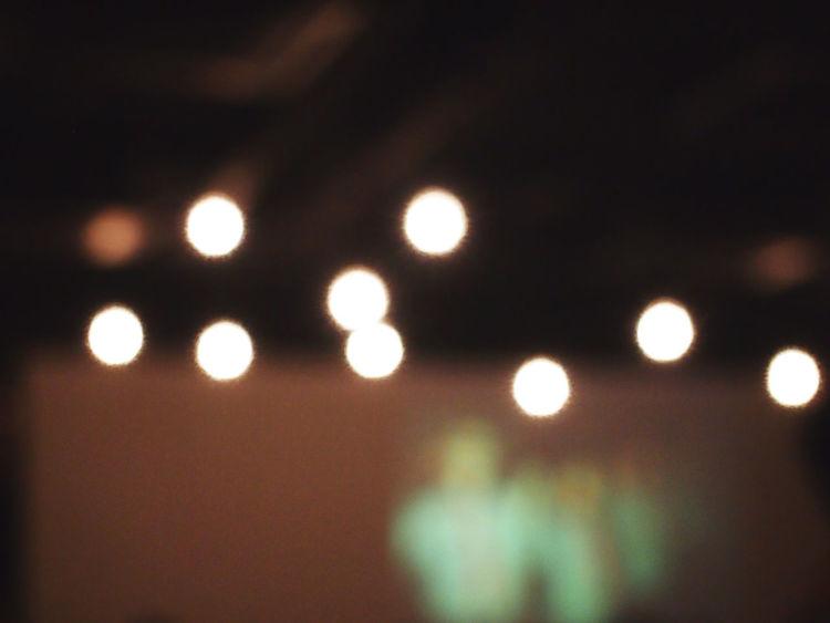 Lights Ambience Blurry Defocused Illuminated Light Bulb Mood Night No People Soothing Trance