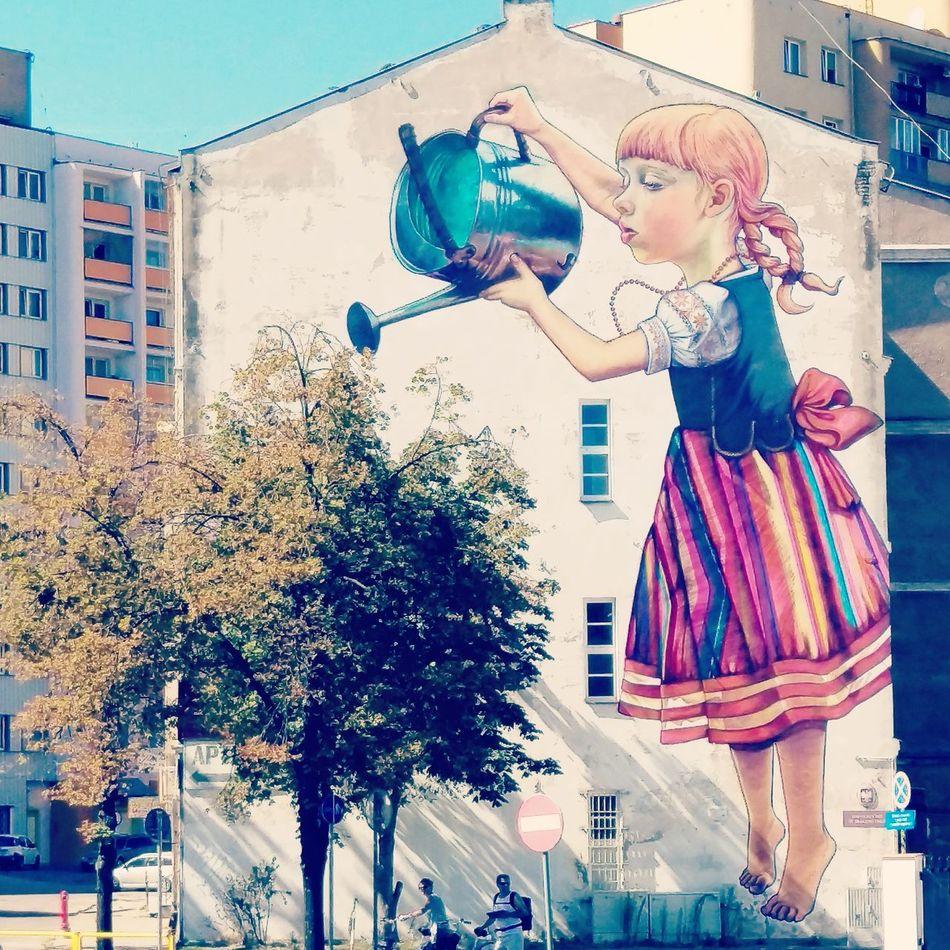 Mycity Poland Bialystok Bialystok City My City Bialystok Mural Mural Art Murals Paint